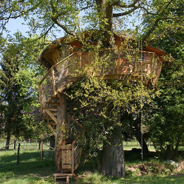 Cabane La Grande Noë à Moulicent © Tourisme 61