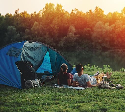 Camping dans l'Orne