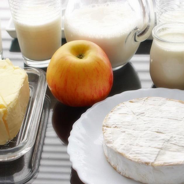 Produits laitiers © JE Rubio