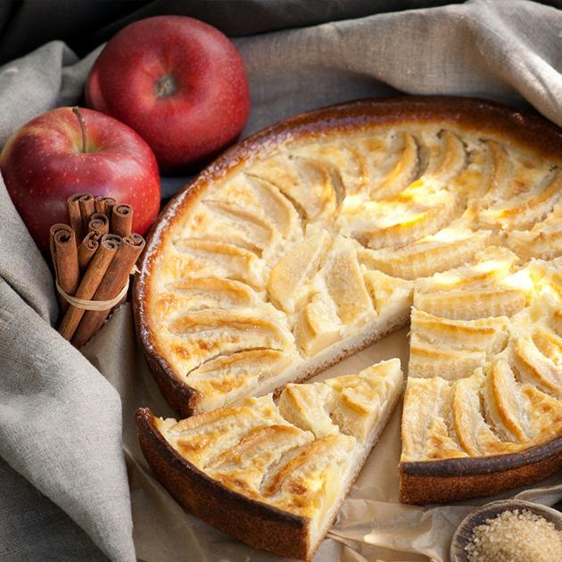 Tarte aux pommes © Christian Jung