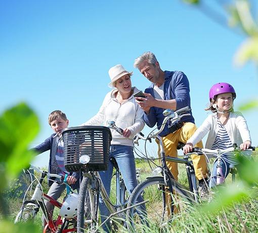 Idées week-end à vélo © Goodluz
