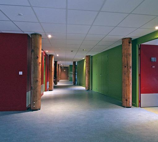 Centres d'hébergements pour groupes