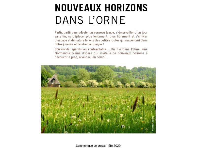 Communiqué de presse de l'Orne - 07 2020