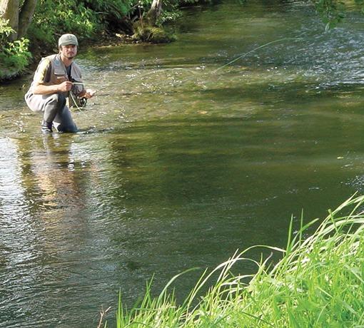pêcheur © fédération de pêche