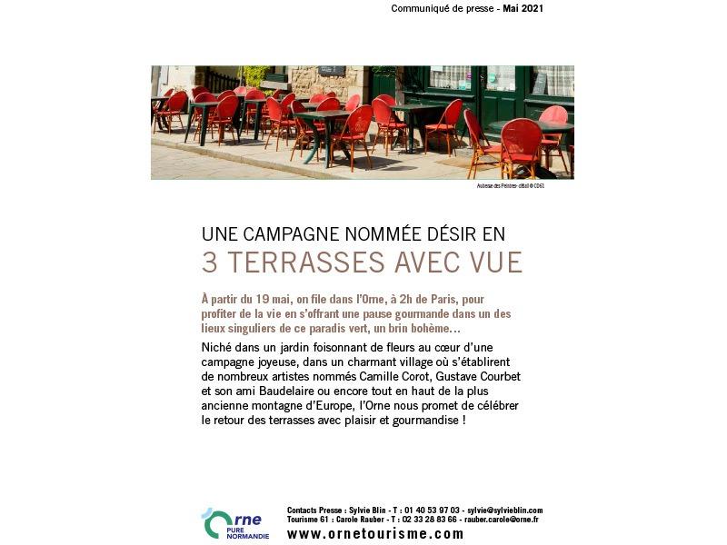 Communiqué de presse de l'Orne - 05 2021