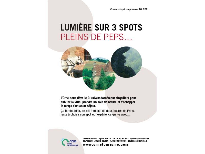 Communiqué de presse de l'Orne - 07 2021